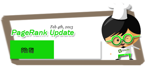pagerank update 2013