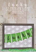 The Happy Scraps - Lucky Printable
