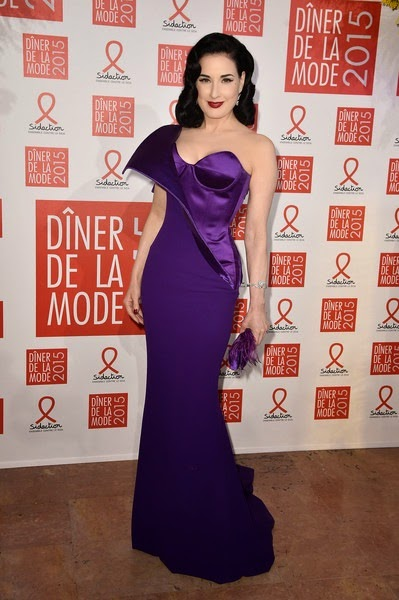 Dita Von Teese Sidaction Gala Dinner Paris XuB5-1JuYuml
