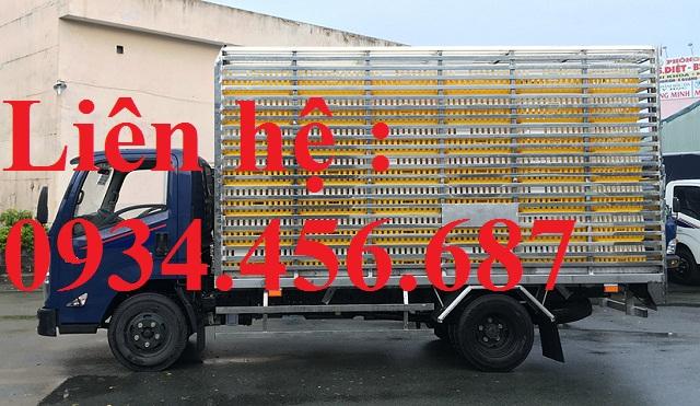 Xe chở gà vịt IZ65 đô thành 3.5 tấn