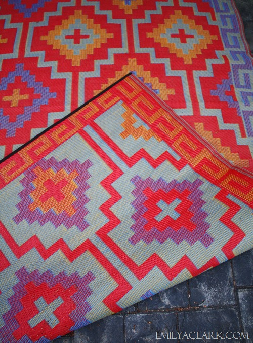 Fab Habitat reversible indoor outdoor rug