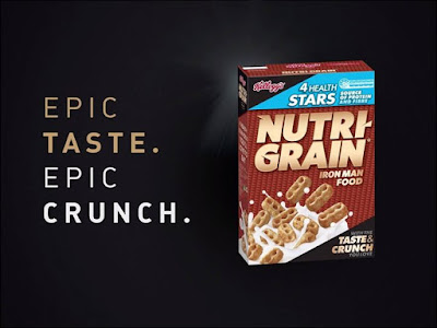 Kick start your morning with the epic crunch and huge flavour of NutriGrain cereal