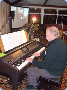 Colin Crann managed to squeeze-in five pieces for us in his 12 minute slot (er well maybe a little longer but hey whose counting with such great choice of songs and fab arrangements!).