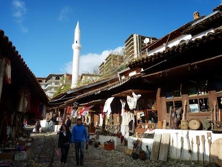 Obiective turistice Albania: Bazar Kruja