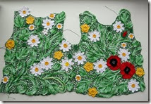 irish crochet poppy top how to 1