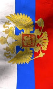 Russia flag free livewallpaper - screenshot thumbnail