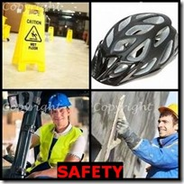 SAFETY- 4 Pics 1 Word Answers 3 Letters