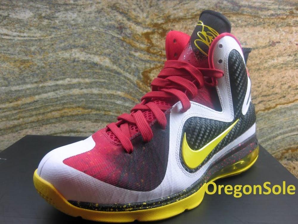 Unreleased Nike LeBron 9 8220MVP8221 8211 Black Midsole Sample . 6419a84677