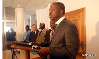 Adolphe Muzito, Premier Ministre de la RDC, décembre 2010, Kinshasa