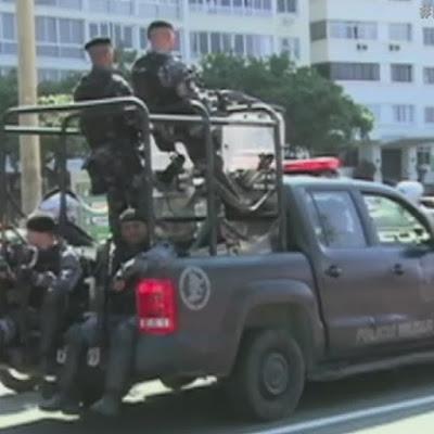 Extremas medidas de seguridad en Río de Janeiro