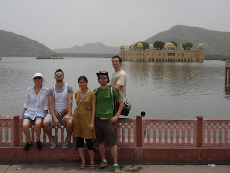 Obiective turistice Jaipur: Palatul de apa