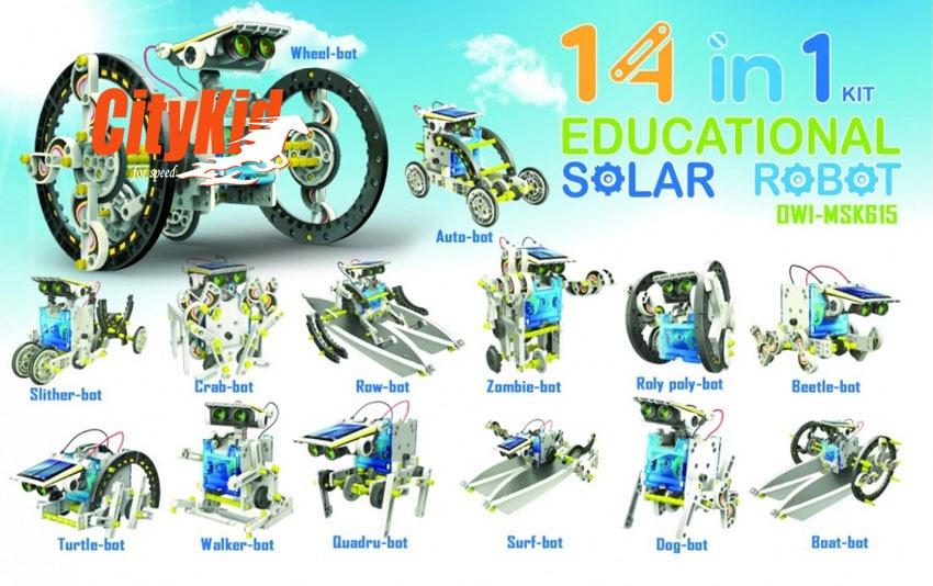 Đồ chơi lắp ráp robot biến hình Solar robot 2115