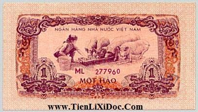 1 Hào Việt Nam Dân Chủ 1972