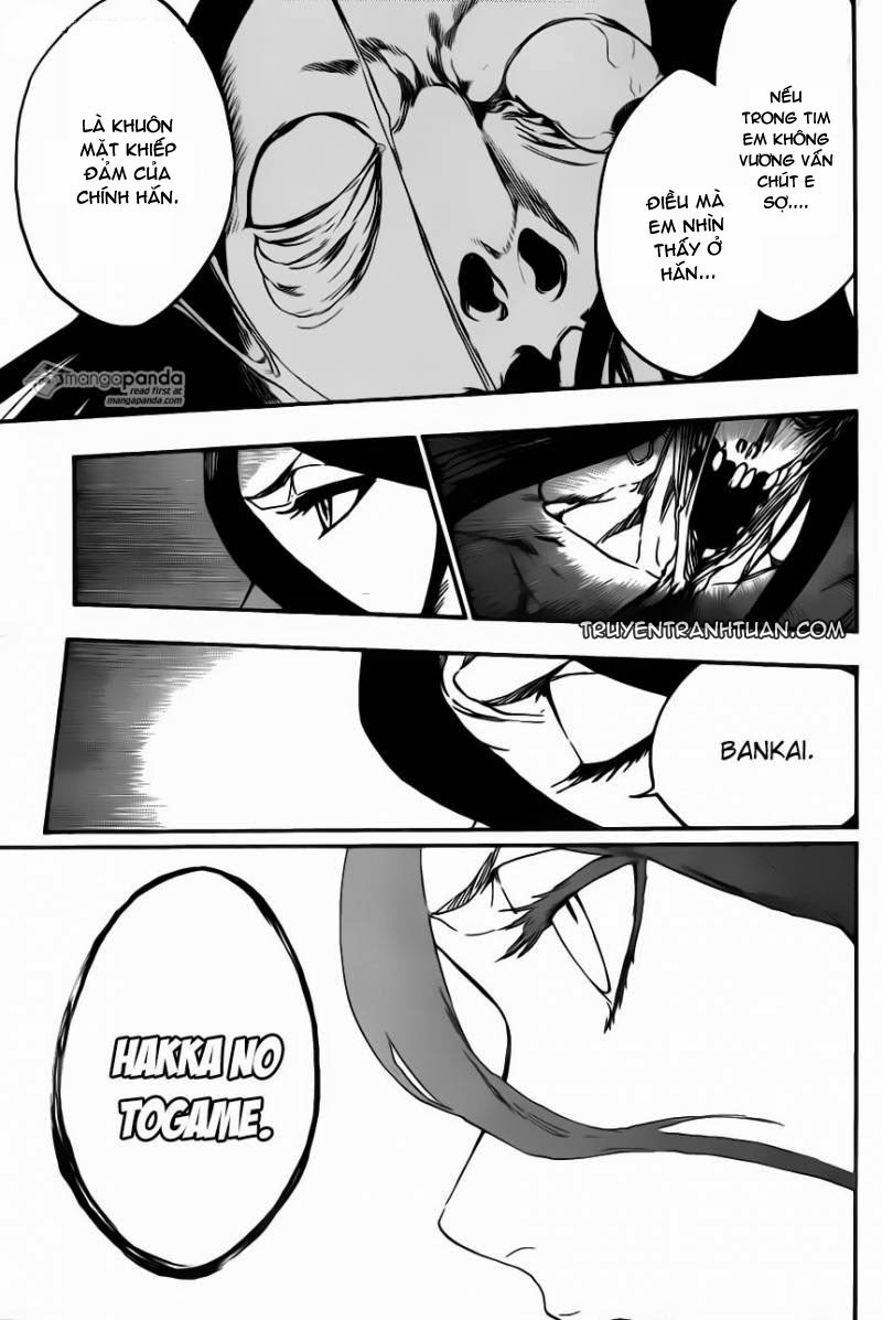 Bleach chapter 569 trang 18