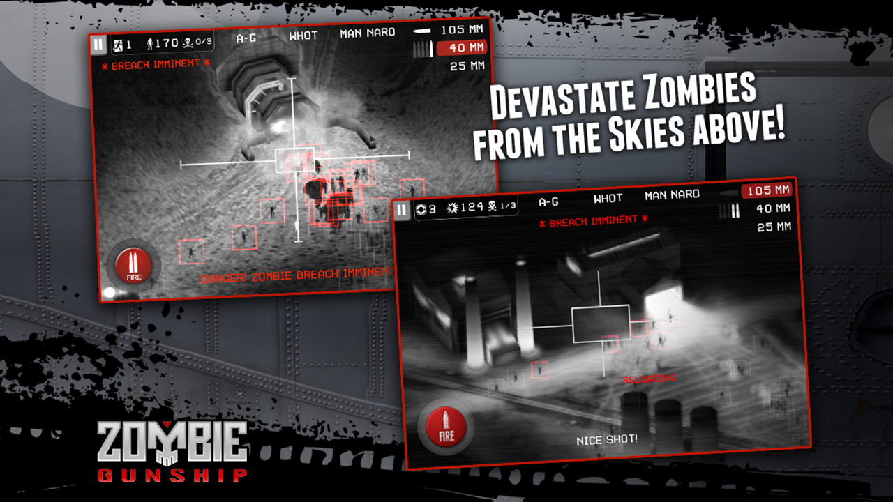 Zombie Gunship- screenshot