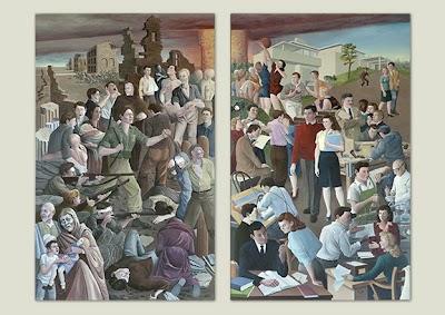 Ross Murals on Wall 5.75 x 8