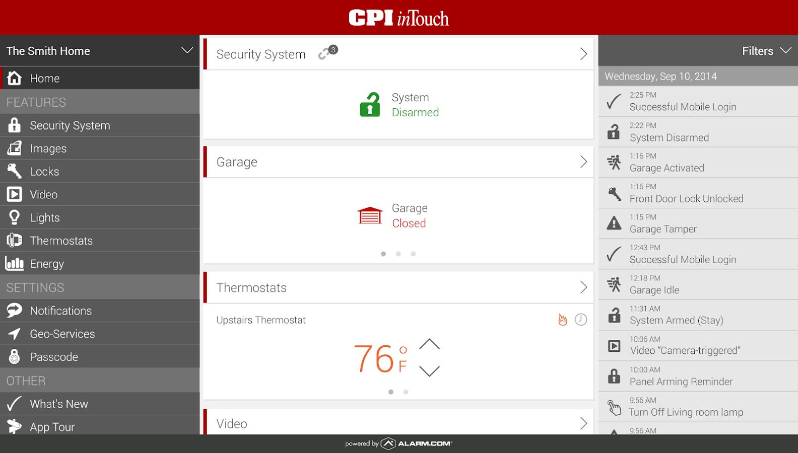 CPI Security - screenshot
