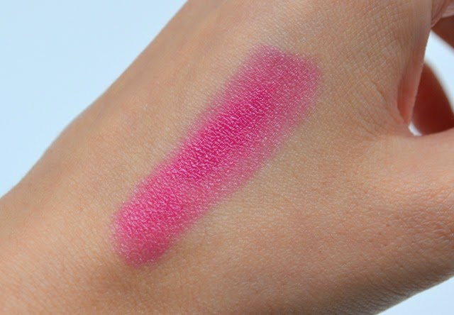 Lise Watier Aurora Rouge Fondant Supreme Swatch in Stella Review (2)