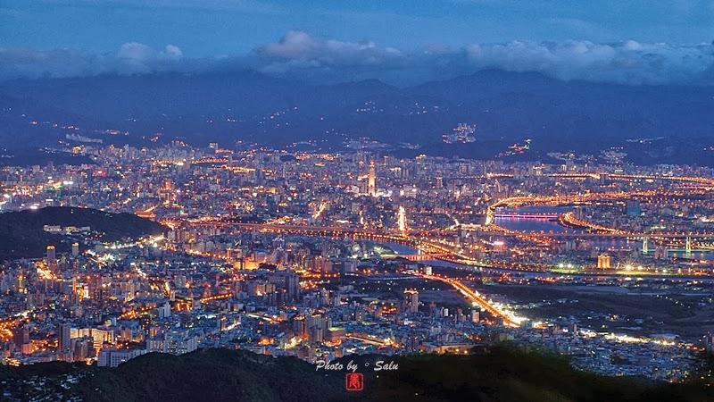 台北 中正山 夜景 攝