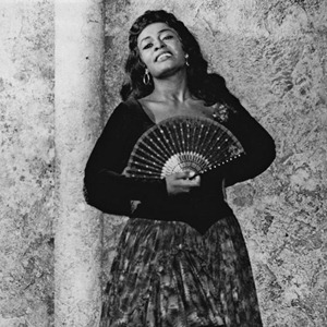 Mezzo-soprano Shirley Verrett in the title role of Bizet's CARMEN