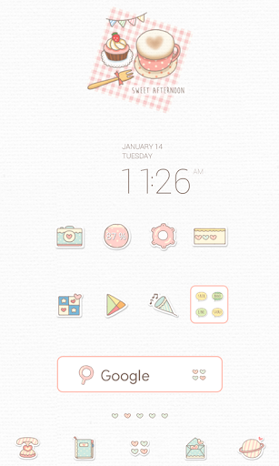 sweet afternoon dodol theme