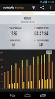 Screenshot of Runtastic Push-Ups Workout