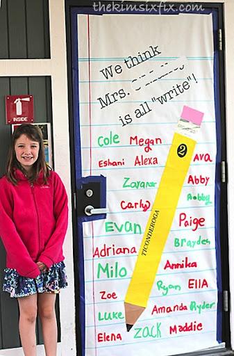 ... Teacher Appreciation Door