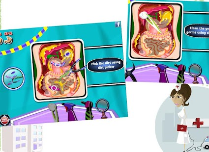 Stomach Doctor - Surgery Game- screenshot thumbnail