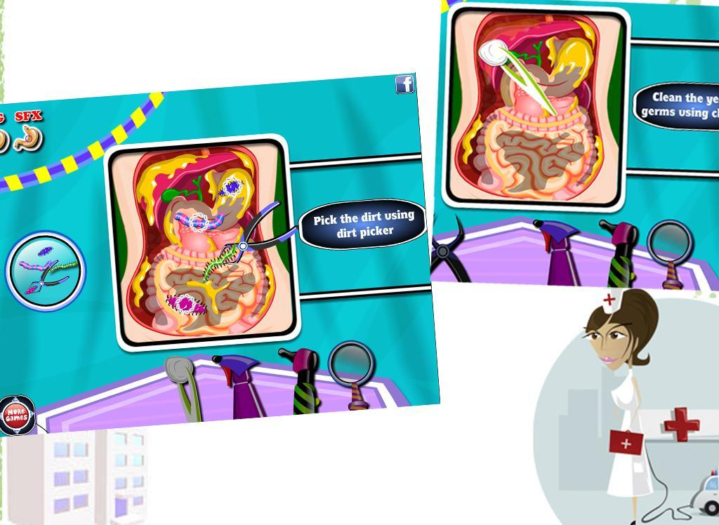 Stomach Doctor - Surgery Game- screenshot