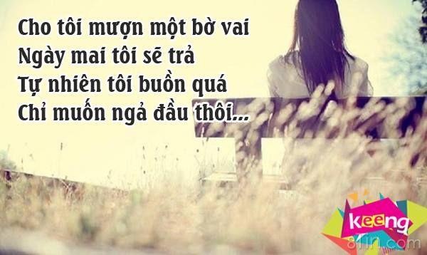 Cho tôi mượn một bờ vai...  www.keeng.vn  Mạ