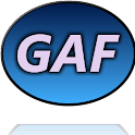 GAF – Global Address Finder logo