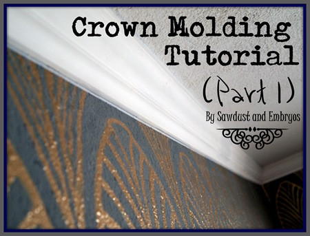 Crown Molding Tutorial (Part 1) by Sawdust and Embryos