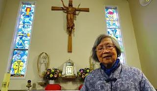 Hình bà Têrêsa Liu chụp ngày 15 Tháng Sáu 2019 tại nhà thờ Tổng lãnh Michael ở Hurstville mạn nam Sydney, Úc. (CNS photo/Catherine Sheehan)