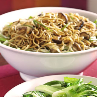 Gingery Shiitake Noodles Recipe