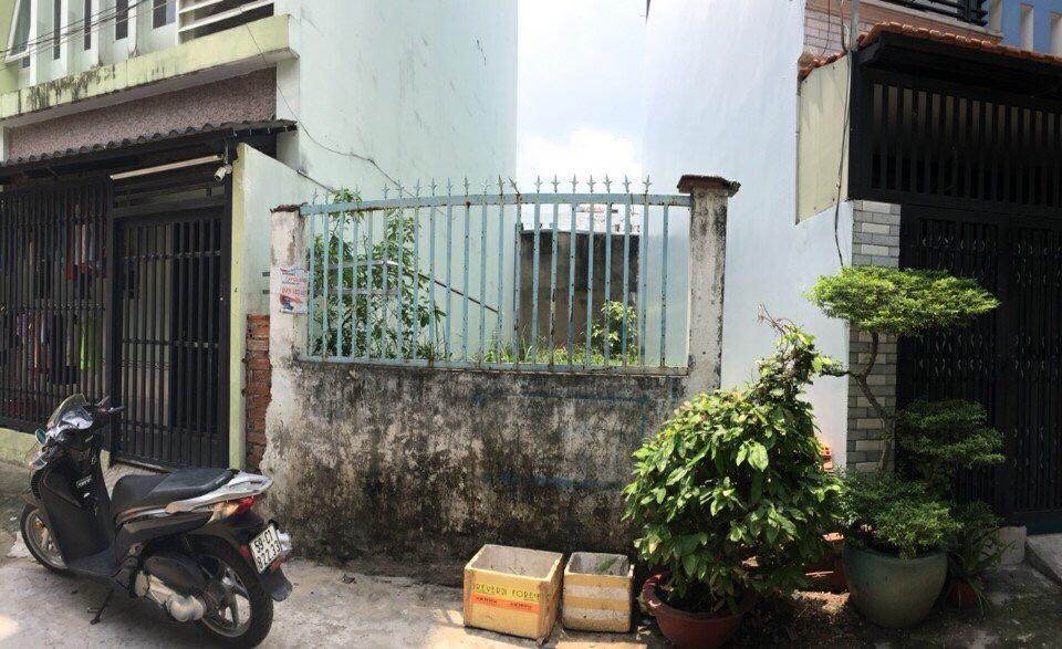 Bán đất hẻm đường Nguyễn Hữu Tiến Quận Tân Phú Tp Hồ Chí Minh 01