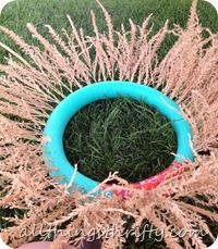 corn tassel wreath