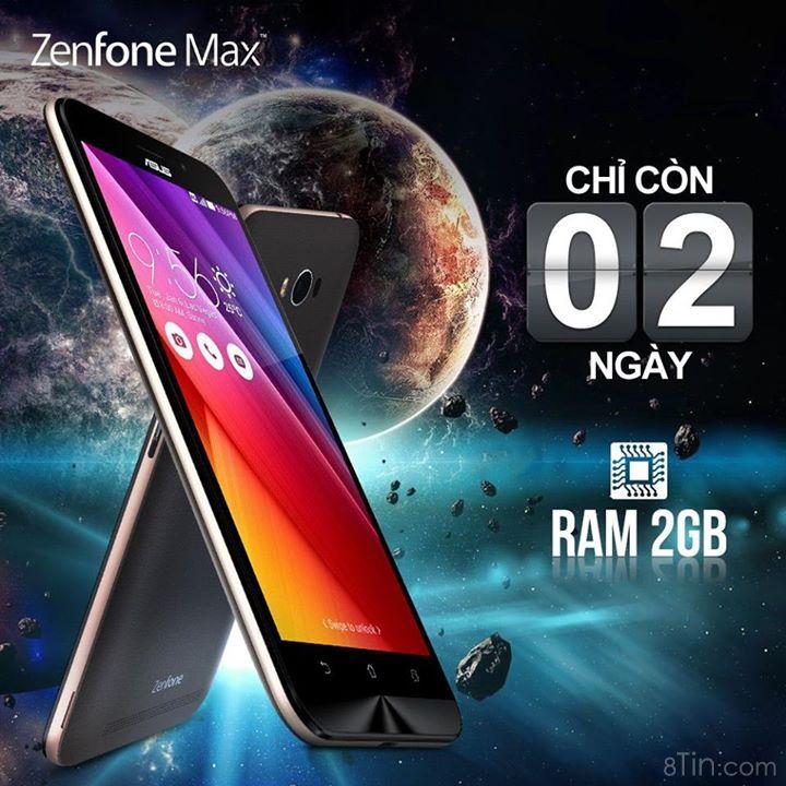 Chỉ còn 2 ngày, ZenFone Max chính thức lên kệ, phủ sóng
