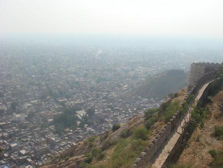Imagini India: panorama Jaipur