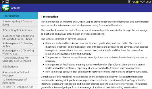 Veterinary Handbook- screenshot thumbnail