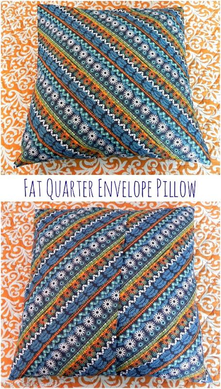 Fat Quarter Envelope Pillow