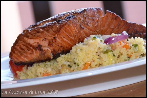 La cucina di lisa salmone marinato alla soia e zenzero for Cucinare vegetariano
