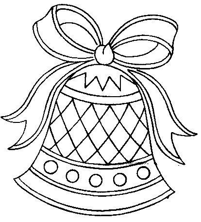 Maestra De Infantil Campanas De Navidad Para Colorear - Dibujos-para-colorear-de-navidad-para-imprimir