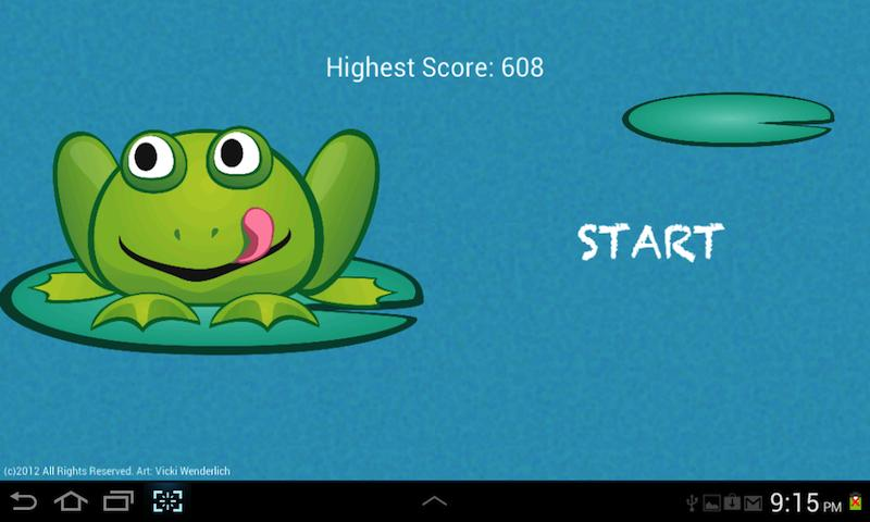 Hopping Frog- screenshot