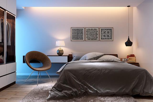 phòng ngủ 1 chung cư hanoi landmark 51