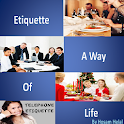 Etiquette : a way of life icon