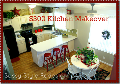 $300 Kitchen Makeover @ Sassy Style Redesign