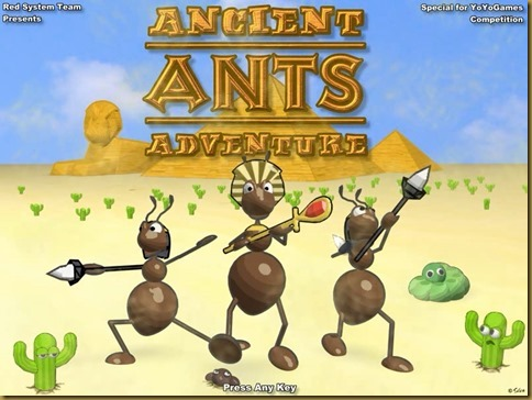 Ancient Ants Adventure タイトル
