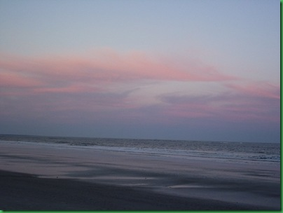 Hunting Island Sunset 008