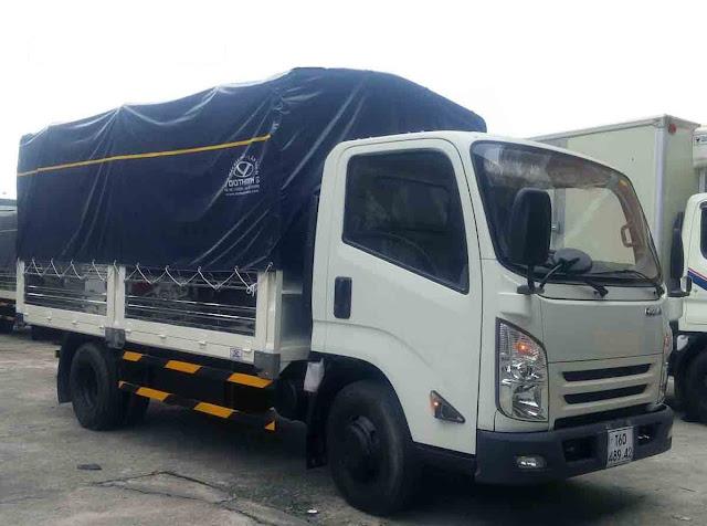 Ra mắt xe isuzu IZ65 thùng bạt 2.5 tấn năm 2018