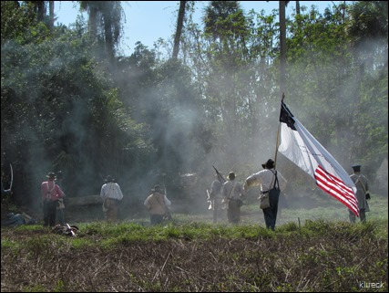 The Battle of Kissimmee re-enactment